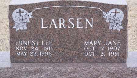 HAUN LARSEN, MARY JANE - Keya Paha County, Nebraska | MARY JANE HAUN LARSEN - Nebraska Gravestone Photos
