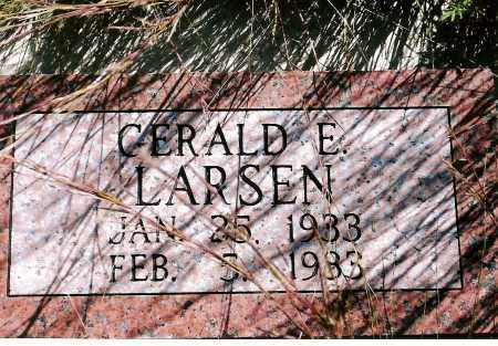 LARSEN, GERALD E. - Keya Paha County, Nebraska   GERALD E. LARSEN - Nebraska Gravestone Photos