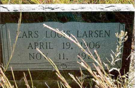 LARSEN, LARS LOUIS - Keya Paha County, Nebraska | LARS LOUIS LARSEN - Nebraska Gravestone Photos