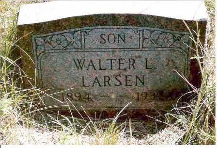 LARSEN, WALTER L. - Keya Paha County, Nebraska | WALTER L. LARSEN - Nebraska Gravestone Photos