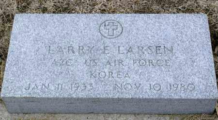 LASEN, LARRY E. - Keya Paha County, Nebraska | LARRY E. LASEN - Nebraska Gravestone Photos