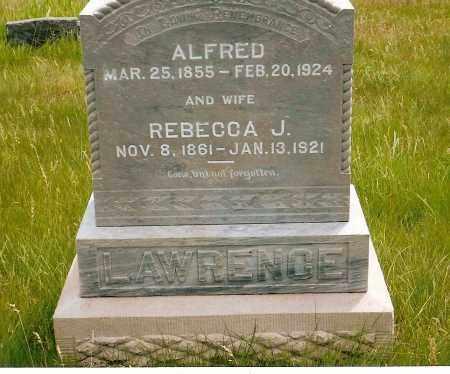 LAWRENCE, ALFRED - Keya Paha County, Nebraska   ALFRED LAWRENCE - Nebraska Gravestone Photos
