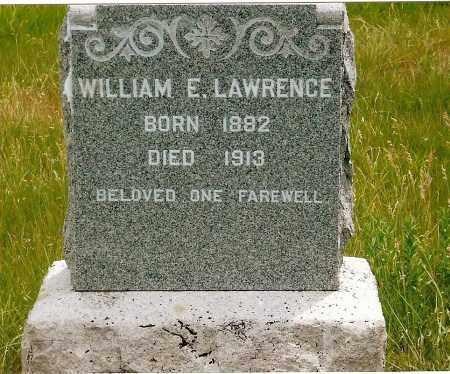 LAWRENCE, WILLIAM E. - Keya Paha County, Nebraska | WILLIAM E. LAWRENCE - Nebraska Gravestone Photos
