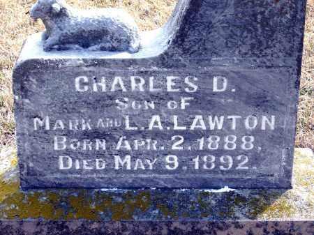 LAWTON, CHARLES D. - Keya Paha County, Nebraska | CHARLES D. LAWTON - Nebraska Gravestone Photos