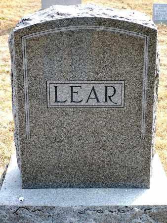 LEAR, FAMILY - Keya Paha County, Nebraska | FAMILY LEAR - Nebraska Gravestone Photos