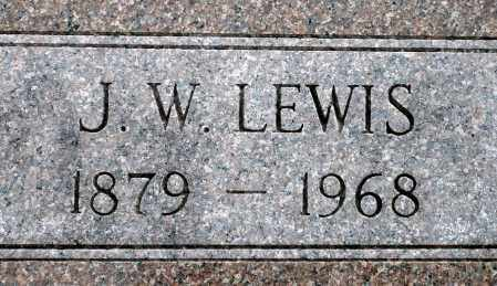 LEWIS, JUSTIN W. - Keya Paha County, Nebraska | JUSTIN W. LEWIS - Nebraska Gravestone Photos