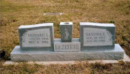 LEZOTTE, HOWARD L. - Keya Paha County, Nebraska | HOWARD L. LEZOTTE - Nebraska Gravestone Photos
