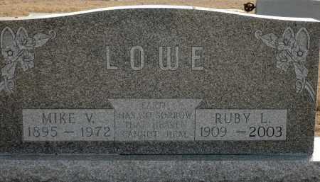 LOWE, MIKE V. - Keya Paha County, Nebraska | MIKE V. LOWE - Nebraska Gravestone Photos