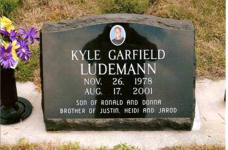 LUDEMANN, KYLE GARFIELD - Keya Paha County, Nebraska   KYLE GARFIELD LUDEMANN - Nebraska Gravestone Photos
