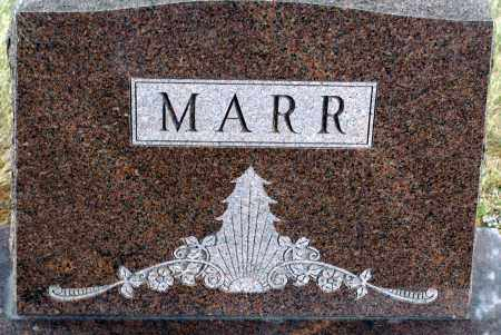 MARR, FAMILY - Keya Paha County, Nebraska | FAMILY MARR - Nebraska Gravestone Photos