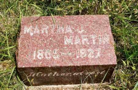 MARTIN, MARTHA J. - Keya Paha County, Nebraska   MARTHA J. MARTIN - Nebraska Gravestone Photos