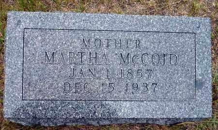 MCCOID, MARTHA - Keya Paha County, Nebraska | MARTHA MCCOID - Nebraska Gravestone Photos