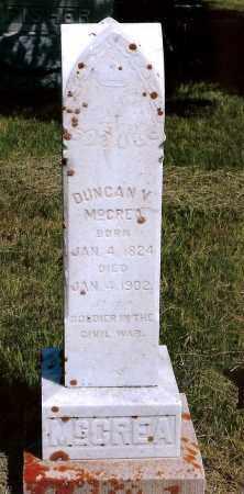 MCCREA, DUNCAN V. - Keya Paha County, Nebraska   DUNCAN V. MCCREA - Nebraska Gravestone Photos