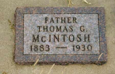 MCINTOSH, THOMAS G. - Keya Paha County, Nebraska | THOMAS G. MCINTOSH - Nebraska Gravestone Photos