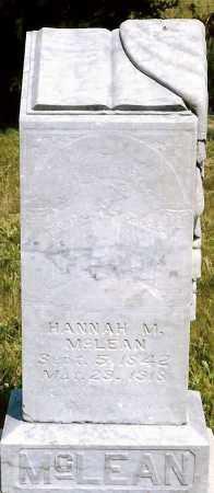 MCLEAN, HANNAH M. - Keya Paha County, Nebraska | HANNAH M. MCLEAN - Nebraska Gravestone Photos