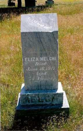 MELCHI, ELIZA - Keya Paha County, Nebraska | ELIZA MELCHI - Nebraska Gravestone Photos