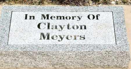 MEYERS, CLAYTON - Keya Paha County, Nebraska | CLAYTON MEYERS - Nebraska Gravestone Photos