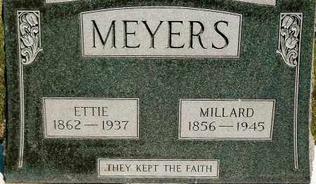 MEYERS, MILLARD - Keya Paha County, Nebraska | MILLARD MEYERS - Nebraska Gravestone Photos