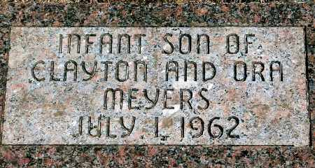 MEYERS, INFANT SON - Keya Paha County, Nebraska | INFANT SON MEYERS - Nebraska Gravestone Photos