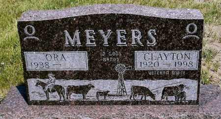 MEYERS, ORA - Keya Paha County, Nebraska | ORA MEYERS - Nebraska Gravestone Photos
