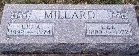 MILLARD, LEE - Keya Paha County, Nebraska | LEE MILLARD - Nebraska Gravestone Photos