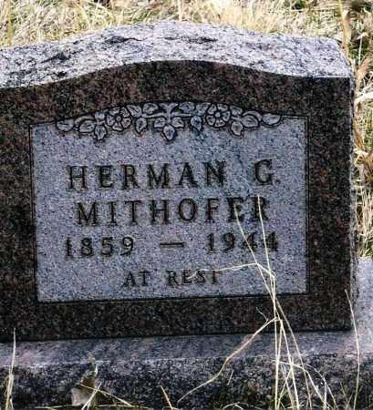 MITHOFER, HERMAN G. - Keya Paha County, Nebraska   HERMAN G. MITHOFER - Nebraska Gravestone Photos