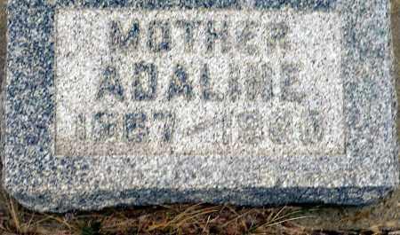 WHITE MOCK, ADELINE - Keya Paha County, Nebraska | ADELINE WHITE MOCK - Nebraska Gravestone Photos