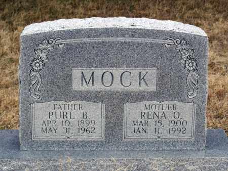 MOCK, PURL B. - Keya Paha County, Nebraska | PURL B. MOCK - Nebraska Gravestone Photos