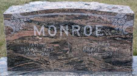 MONROE, TEXAS JACK - Keya Paha County, Nebraska | TEXAS JACK MONROE - Nebraska Gravestone Photos