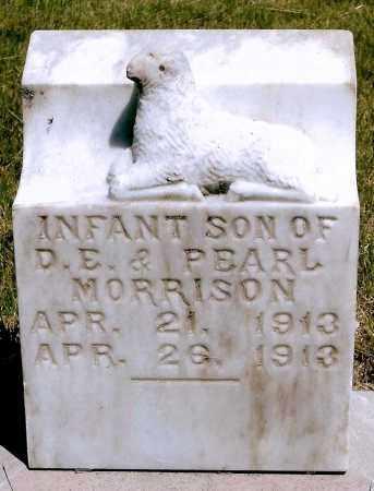 MORRISON, INFANT SON - Keya Paha County, Nebraska | INFANT SON MORRISON - Nebraska Gravestone Photos