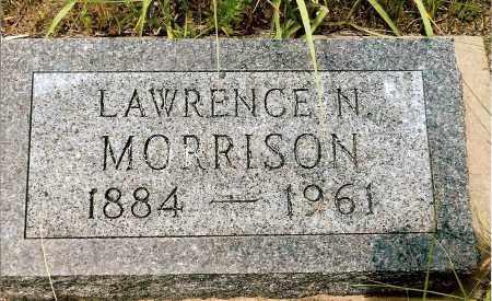 MORRISON, LAWRENCE N. - Keya Paha County, Nebraska | LAWRENCE N. MORRISON - Nebraska Gravestone Photos
