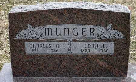 JOHNSON MUNGER, EDNA B. - Keya Paha County, Nebraska | EDNA B. JOHNSON MUNGER - Nebraska Gravestone Photos