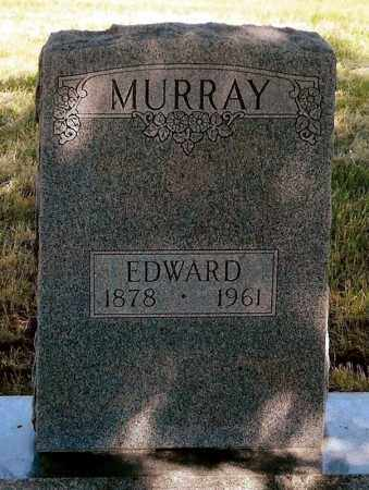 MURRAY, EDWARD - Keya Paha County, Nebraska | EDWARD MURRAY - Nebraska Gravestone Photos