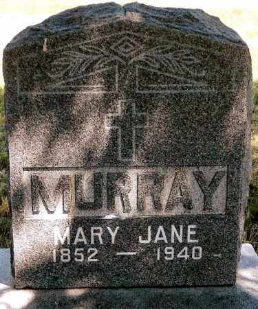 MURRAY, MARY JANE - Keya Paha County, Nebraska | MARY JANE MURRAY - Nebraska Gravestone Photos