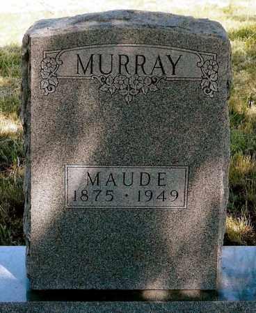 MURRAY, MAUDE - Keya Paha County, Nebraska | MAUDE MURRAY - Nebraska Gravestone Photos