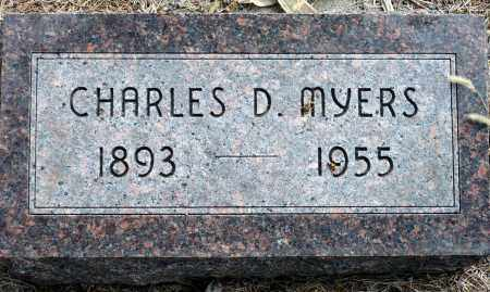 MYERS, CHARLES D. - Keya Paha County, Nebraska | CHARLES D. MYERS - Nebraska Gravestone Photos