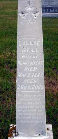 MYERS, LILLIE BELL - Keya Paha County, Nebraska   LILLIE BELL MYERS - Nebraska Gravestone Photos