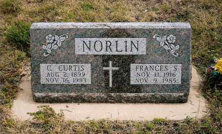 NORLIN, REV. CARL CURTIS - Keya Paha County, Nebraska | REV. CARL CURTIS NORLIN - Nebraska Gravestone Photos