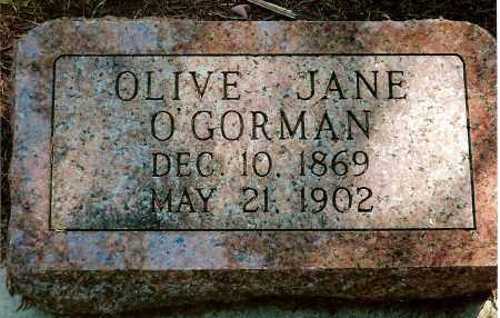 O'GORMAN, OLIVE JANE - Keya Paha County, Nebraska | OLIVE JANE O'GORMAN - Nebraska Gravestone Photos