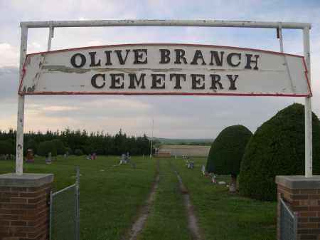 *OLIVE BRANCH CEMETERY, ENTRANCE SIGN - Keya Paha County, Nebraska | ENTRANCE SIGN *OLIVE BRANCH CEMETERY - Nebraska Gravestone Photos