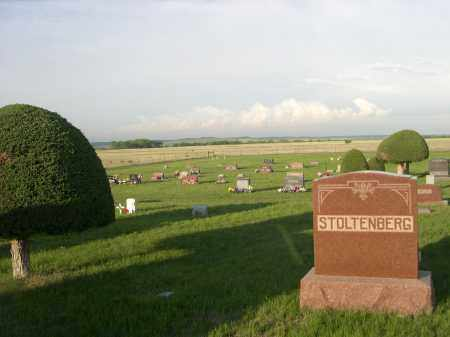 *OLIVE BRANCH CEMETERY, VIEW OF - Keya Paha County, Nebraska | VIEW OF *OLIVE BRANCH CEMETERY - Nebraska Gravestone Photos