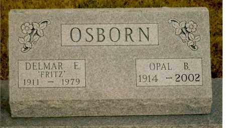 SCHRANTZ OSBORN, OPAL B. - Keya Paha County, Nebraska | OPAL B. SCHRANTZ OSBORN - Nebraska Gravestone Photos