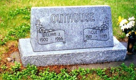 OUTHOUSE, ICLE M. - Keya Paha County, Nebraska   ICLE M. OUTHOUSE - Nebraska Gravestone Photos