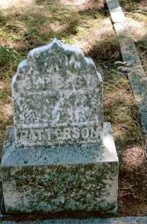 PATTERSON, BABY - Keya Paha County, Nebraska | BABY PATTERSON - Nebraska Gravestone Photos