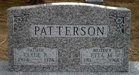 PATTERSON, ETTA M. - Keya Paha County, Nebraska   ETTA M. PATTERSON - Nebraska Gravestone Photos