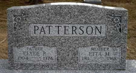 NEWLAND PATTERSON, ETTA M. - Keya Paha County, Nebraska | ETTA M. NEWLAND PATTERSON - Nebraska Gravestone Photos