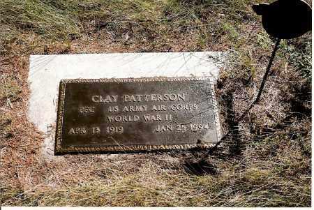 PATTERSON, CLAY - Keya Paha County, Nebraska | CLAY PATTERSON - Nebraska Gravestone Photos