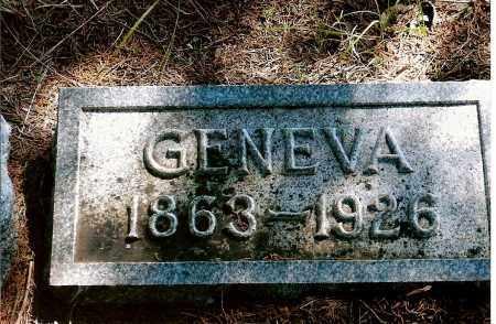 DALE PATTERSON, GENEVA - Keya Paha County, Nebraska | GENEVA DALE PATTERSON - Nebraska Gravestone Photos