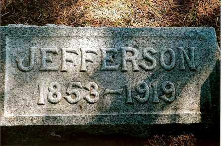 PATTERSON, JEFFERSON - Keya Paha County, Nebraska | JEFFERSON PATTERSON - Nebraska Gravestone Photos
