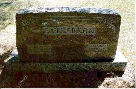 PATTERSON, HARRY - Keya Paha County, Nebraska | HARRY PATTERSON - Nebraska Gravestone Photos